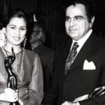 Padmini Kolhapure with her Filmfare Award