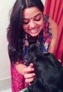 Pallavi Bharti- Dog Lover