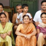 Prakash Amte with his family
