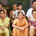 Prakash Amte with his family
