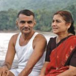 Prakash Amte with his wife