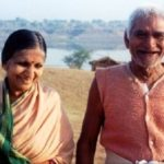 Prakash Amte's parents