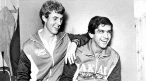 Prakash Padukone with Morten Frost