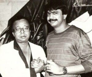 R. D. Burman with Journalist Chaitanya Padukone