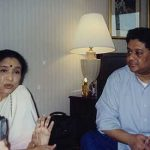 R. D. Burman's stepson Anand Bhosle