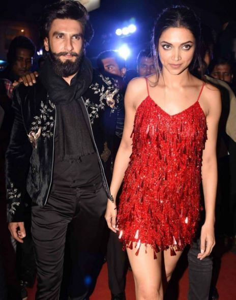 Ranveer and Deepika at the premiere of xXx: Return of Xander Cage