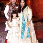 Ridhima Taneja with her parents