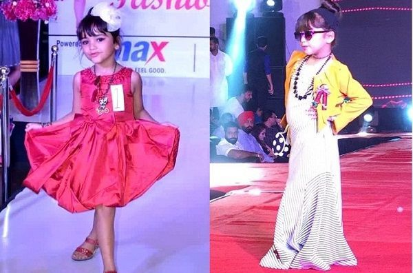 Ridhima Taneja's ramp walk during fashion shows