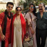 Rishabh Chadha with his parents and sister