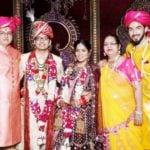 Rohit Suchanti with his parents, brother and sister-in-law