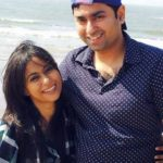 Ronjini Chakraborty with her Brother