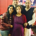 Ronjini Chakraborty with her Family