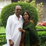 Ronjini Chakraborty with her Father