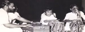 Roop Kumar Rathod Playing the Tabla in his Childhood