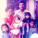 Saanvi Dhiman with her parents and siblings (Childhood Picture)