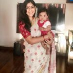 Sakshi Tanwar with her adopted daughter Dityaa