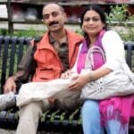 Sanjay Bhatt with his wife