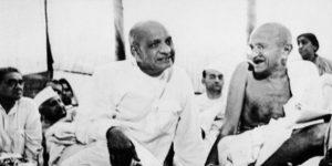 Sardar Patel and Mahatma Gandhi