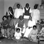 Sardar Patel with his family members