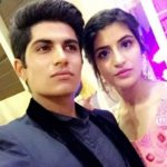 Shubman Gill with his sister