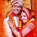 Shweta Jha and Ajay Jha's Marriage Photo