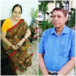 Shweta Jha's parents