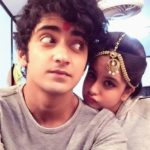 Sumedh Mudgalkar with Tunisha Sharma