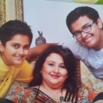 Suparna Anand with her Children