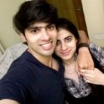 Sushant Marya with his sister