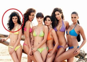 Tina Desai photo shoot for Kingfisher Swimsuit Calendar