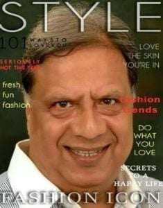 Vijay Tandon on magazine coverpage