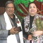 Vijay Tandon with his wife