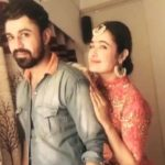 Yuvika Chaudhary with her Brother