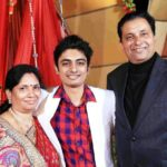 Abhay Jodhpurkar With His Parents
