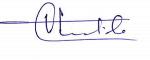 Ajay Singh Chautala's Signature