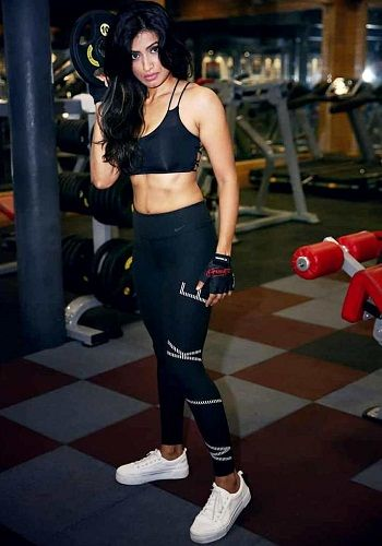 Alefia Kapadia at gym
