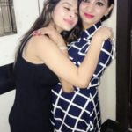 Ankita Dave with her mother