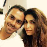 Anusha Mani with her husband