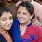 Bhoomi Trivedi with her sister