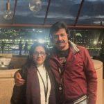 Bhoomi Trivedi's Parents