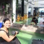 Chitra Tripathi At A Gym