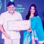 Chitra Tripathi - Ramnath Goenka Excellence In Journalism Award
