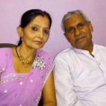 Chitra Tripathi's Parents