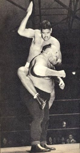 Dara Singh vs King Kong wrestling