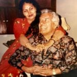 Dara Singh with his wife Surjit Kaur Aulakh