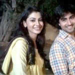 Harshad Chopra with his ex-girlfriend, Sriti Jha