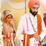 Harshdeep Kaur's marriage photo
