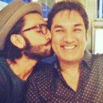 Jugjeet Singh Bhavnani with his son Ranveer Singh