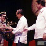 Kiran Bedi With Ramon Magsaysay Award