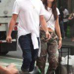 Leonardo-DiCaprio With His Girlfriend Camila Morrone